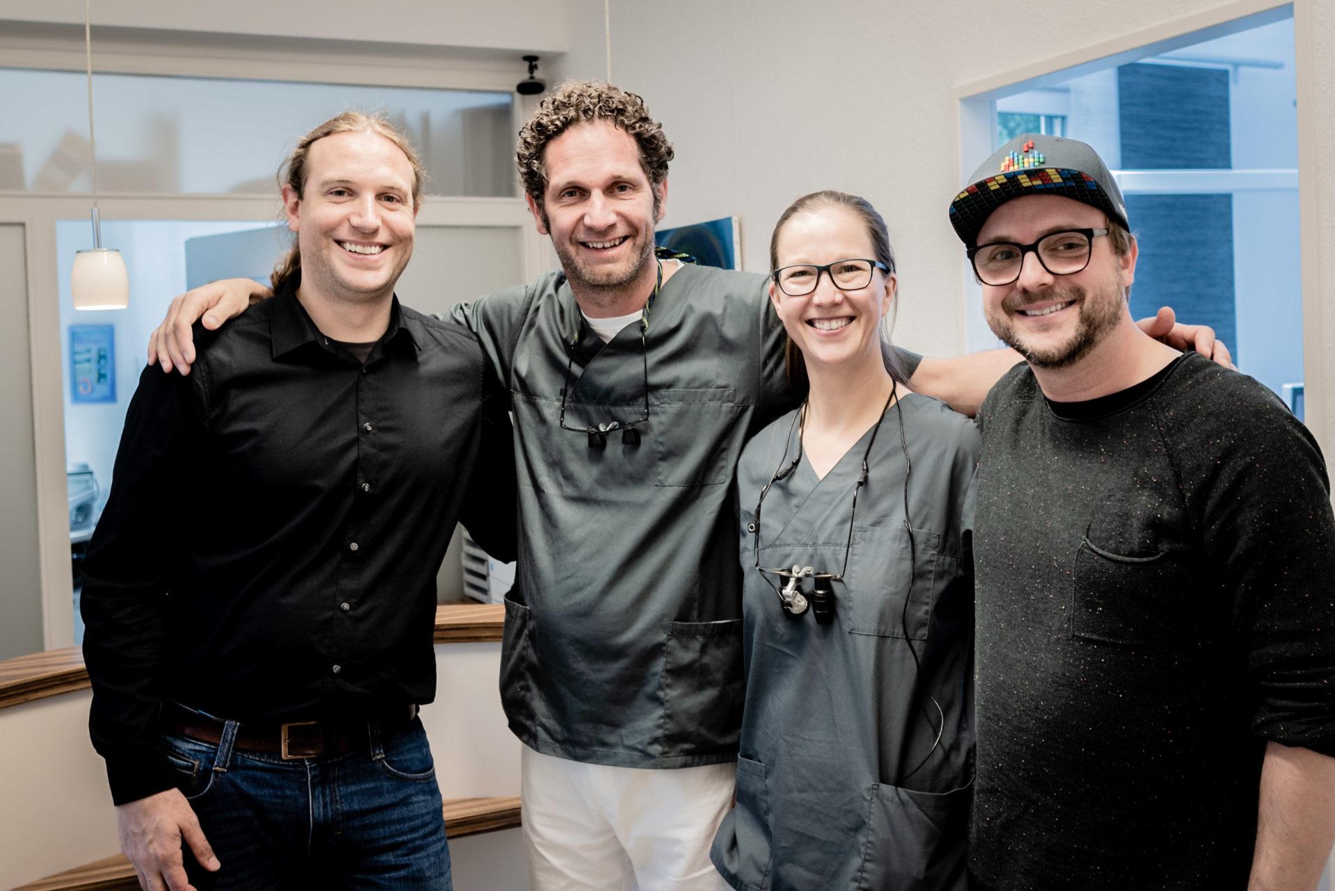 Zahnheilkunde im grünen Herzen-Christian Wentzel und Andrea Schädler